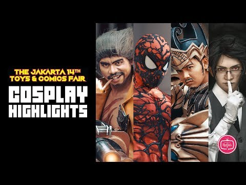 Jakarta Toys and Comic Fair 2018 - Highlights
