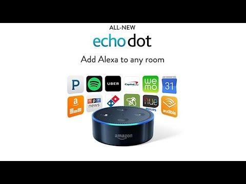 2pk Amazon Echo Dot 2nd Gen Smart Assistants