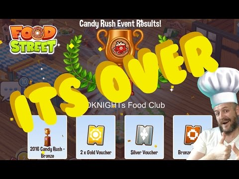 Food Street - Candy Rush Food Event - It's All Over Now.