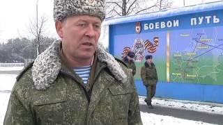 2016-12-02 г. Брест. Новый учебный год в 38 ОМШБ. Новости на Буг-ТВ.