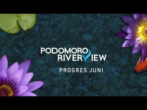 Progres pembangunan Podomoro Golf View Juni 2019