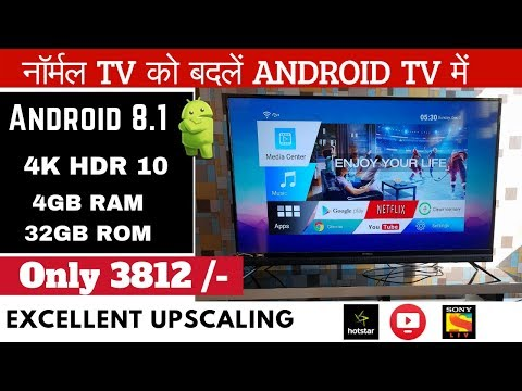 Best Budget Real 4k HDR Android TV Box | Alfawise T9 TV Box Review 2019 | India