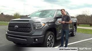 Review: 2018 Toyota Tundra SR5 CrewMax - Falling Behind