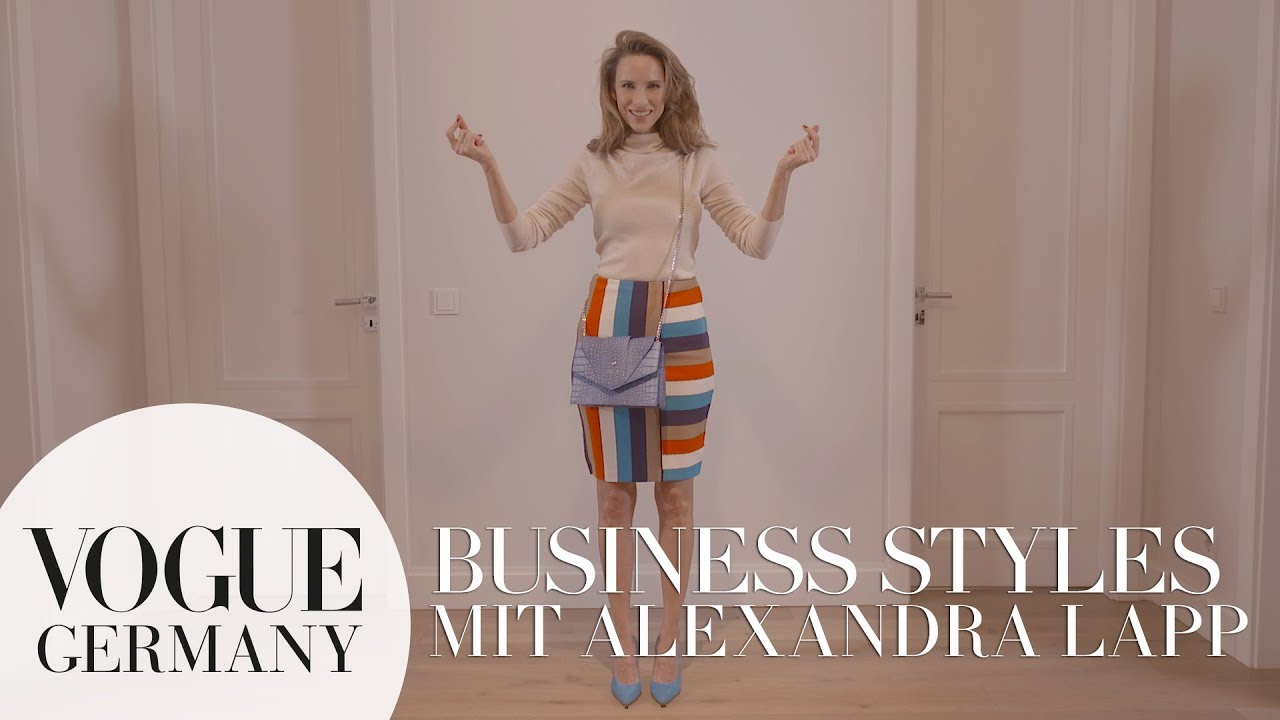 Business Styles mit Alexandra Lapp I  VOGUE Business Insights x Marc Cain
