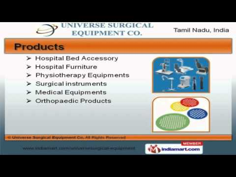 Hospital Furniture & Medical Equipment By Universe Surgical Equipment Co, Chennai