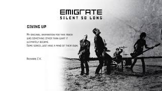 EMIGRATE - Giving Up / Track by Track