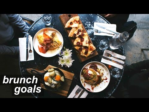 BRUNCH GOALS AF 🍳| Food Adventures Ep. 11: Oficina 1M // Chic Italian Cafe in NYC