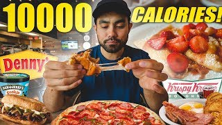 Girlfriend Picks All My Food | Full Day Of Cheating
