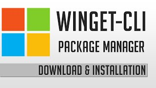 WinGet CLI Package Manager Installation | Windows Tutorial Deutsch thumbnail