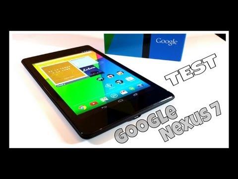 Google Nexus 7 (2013) Test - Prise en main FR