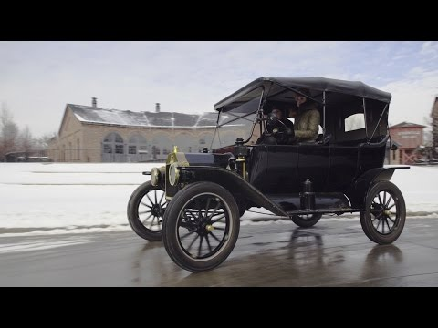 Driving a Ford Model T Is a Lot Harder Than You