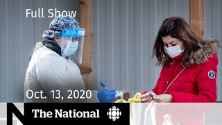 CBC News: The National | COVID-19 caseload a concern for hospitals | Oct. 13, 2020