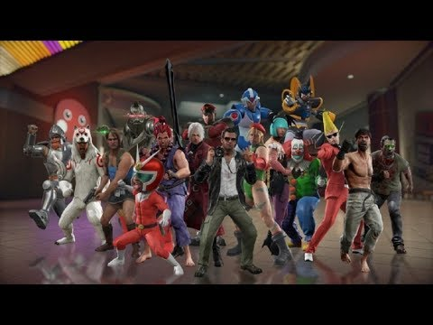 Dead Rising 4 Capcom Heroes - All Costumes And Shadow Costumes Showcase Gameplay
