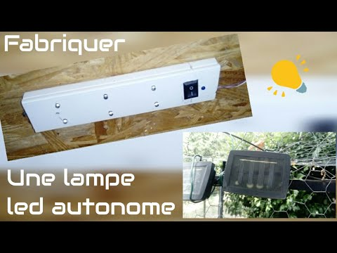 comment faire une lampe solaire et autonome diy solar led lamp youtube. Black Bedroom Furniture Sets. Home Design Ideas