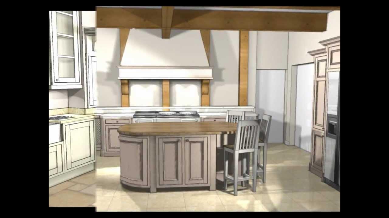 Kitchen Design Exclusive Kitchen 3d Visualization Interior Design 3d Design Wmv