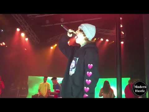 Lil Xan - Slingshot (LIVE) Special Appearance For Lil Skies In Santa Ana