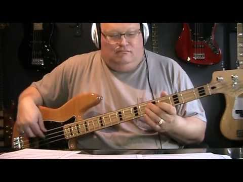 Kiss Hard Luck Woman Bass Cover with Bass Notes & Tablature