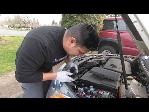 How to REPLACE/CHANGE Headlight Bulb Buick Regal