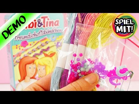 BIBI & TINA Freundschaftsarmbänder selber machen | DIY Set für Kinder ab 7 Jahren | Bibi Blocksberg