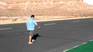 """Ultra Micro R/c """"red Flyer"""" Using The Parkzone Ar6400 Umx Brick"""