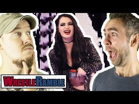 Paige WWE Return CHEAPENED?! WWE Raw vs. Smackdown Nov. 20 & 21, 2017 | WrestleRamble