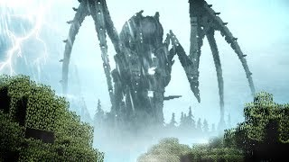 Minecraft but with Cthulhu Monsters, Dragons, Dinosaurs & All Things Terrifying