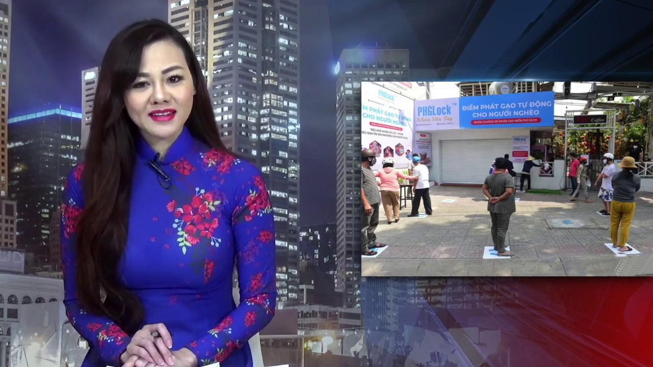 Người Sài Gòn rủ nhau đóng góp cho 'ATM gạo' giúp dân nghèo trong dịch cúm Vũ Hán