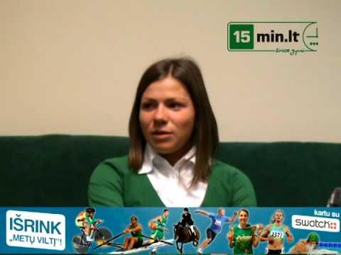 "15min.lt - ""Metų viltis 2008  Lina Grinčikaitė"