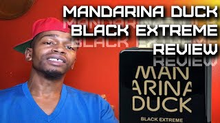 Black Extreme by Mandarina Duck Men's Fragrance Review | My La Nuit Void Filler