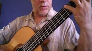 Augustin Barrios Mangoré - Estudio Para Ambas Manos - Moderato