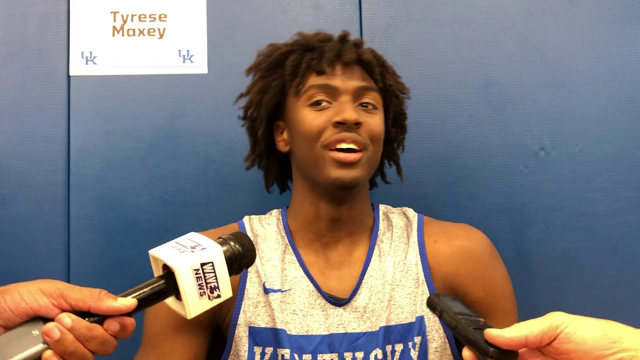 Tyrese Maxey On Why He Never Stops Smiling Kentucky Sports Radio