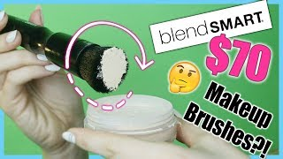 TESTING the BlendSMART ROTATING MAKEUP BRUSH | Is it WORTH the $70 Price tag | DEMO & REVIEW