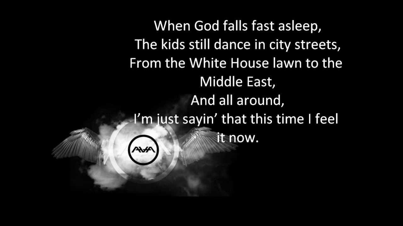 ANGELS AND AIRWAVES : love like rockets lyrics