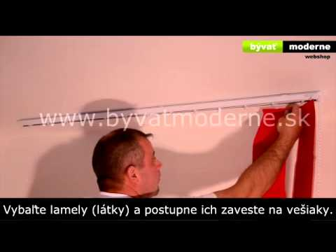 Vertikálne žalúzie - Montáž from YouTube · Duration:  4 minutes 36 seconds