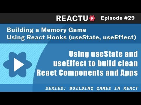 Building a Memory Game using React and React Hooks (useState, useEffect)