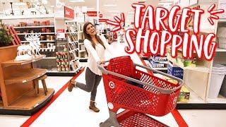TARGET CHRISTMAS SHOPPING! vlogmas day 16