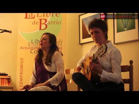 Flamenco: Antonia Jiménez y Loreto de Diego por granaína