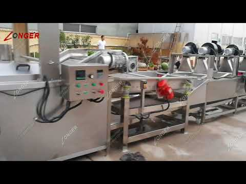 Equipments For French Fries Business - French Fry Production Line Equipment List