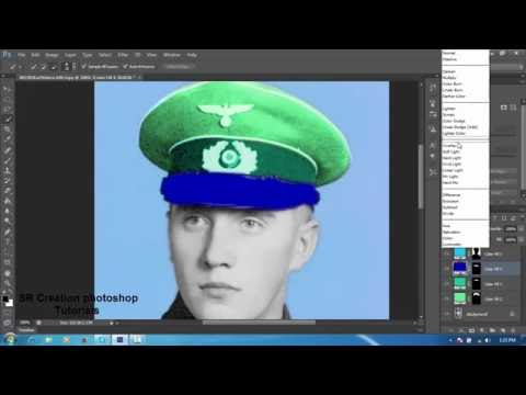 How To Colorize Black And White In Oshop Cs6