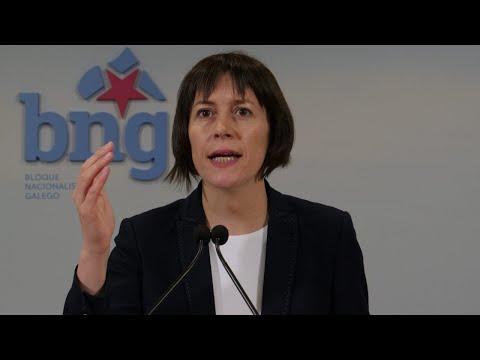 Rolda de prensa de Ana Pontón sobre a situación das residencias de maiores