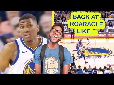 WOW! NEW YORK TRIED US? STARTING TO APPRECIATE KEVON LOONEY! WARRIORS VS KNICKS (REACTION)