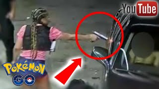5 Shocking Pokemon Go Moments Caught On Tape