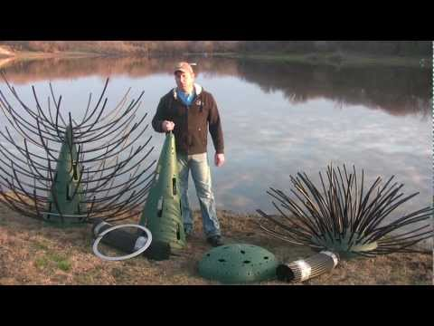 Pond Structure Improvement Using Artificial Fish Attractors