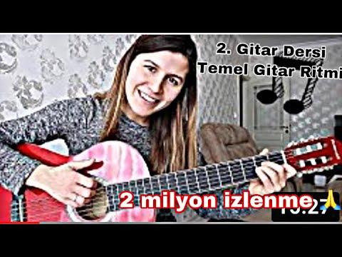 Gitar Nasıl Çalınır ? 2. Ders Am(La minör) E ( Mi majör) Akorları I Folk Ritmi