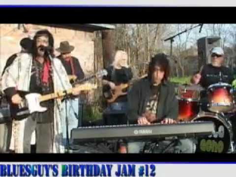 BluesGuy Schwartz Live @ BluesGuy's Birthday Jam #12 - SUPERMAN (edited)