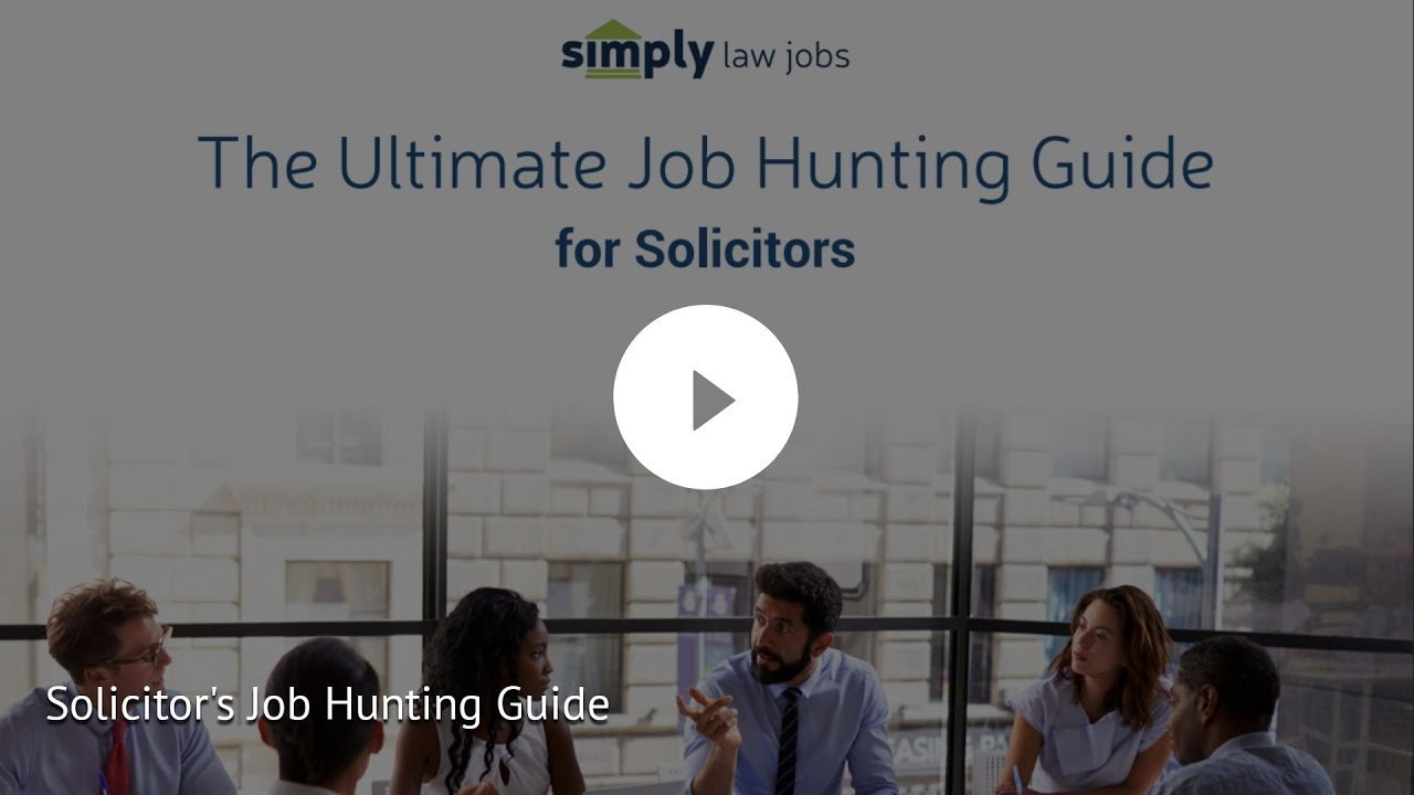 Life as a solicitor | Simply Law Jobs Blog