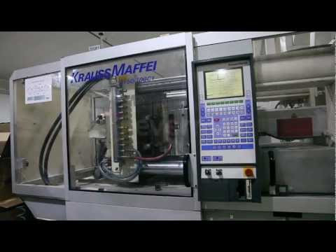 For Sale - 2 x KRAUSS MAFFEI KM Injection Moulding Machines, 125 & 150t (1997 - 1998)