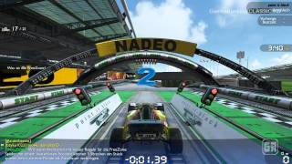 Trackmania Nations Forever Multiplayer Gameplay HD