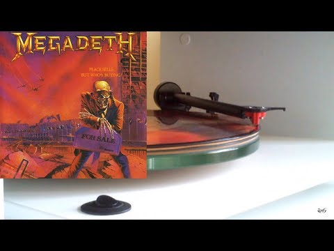MEGADETH Peace Sells Full Album Vinyl rip 1080p