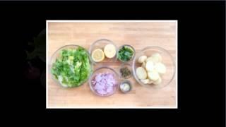 Cannellini Bean Escarole Salad With Crispy Potatoes